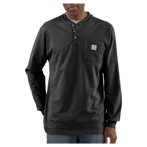 Carhartt Long Sleeve Workwear Henley - K128