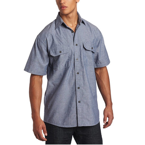 KEY Industries 507 Men's Pre-Washed Chambray Work Shirt