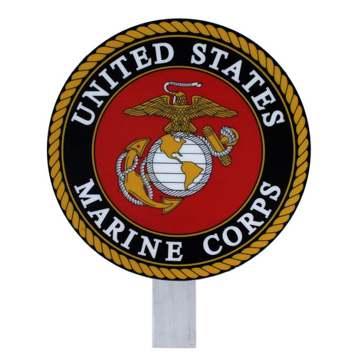 US Marine Corps Grave Flag Holder