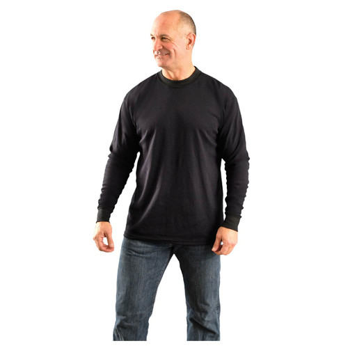 Occunomix LUX-LSTFR Men's Flame Resistant Long Sleeve T-Shirt