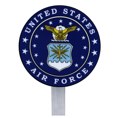 US Air Force Grave Flag Holder