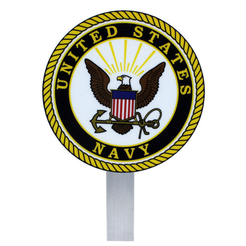 US Navy Grave Flag Holder