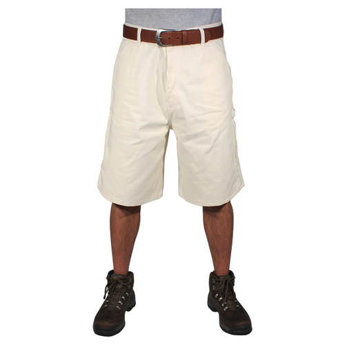 Rugged Blue Painters Shorts