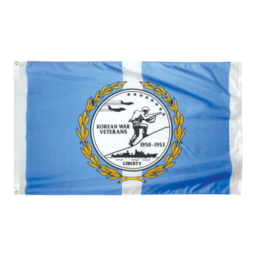 Korean War Veterans 3ft x 5ft Nylon Flag
