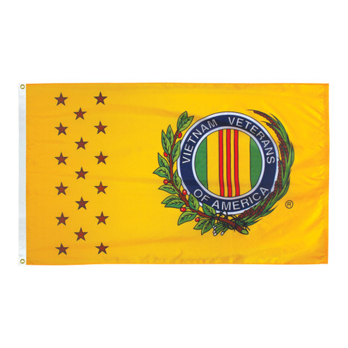 Vietnam War Veterans 3ft x 5ft Nylon Flag