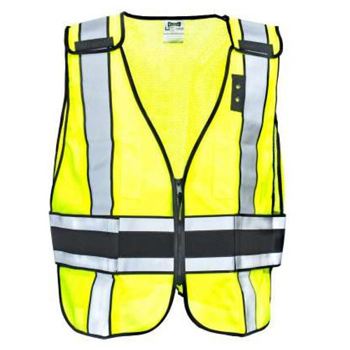 Occunomix DOR Deluxe Plain Safety Vest - LUX-DPS