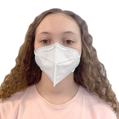 KN95 Protective Face Mask With Elastic Ear Loops: Pack of 2