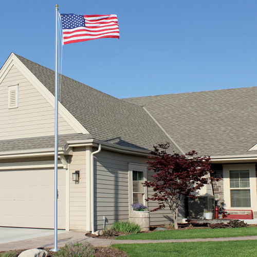 30-Foot Special Budget Series ECS30 Two-Piece Flagpole