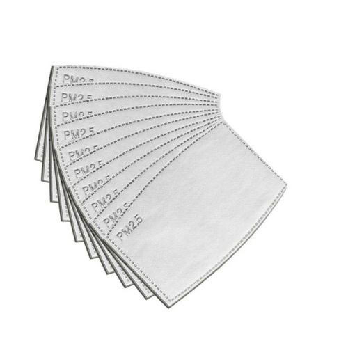 Pack of 10 Bandanarama Super PM 2.5 Filter Mask Insert