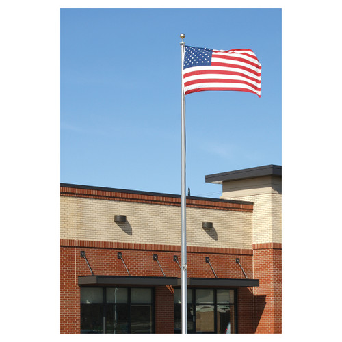 Economy Extra Series 30ft Flagpole - Two Piece - ECX30