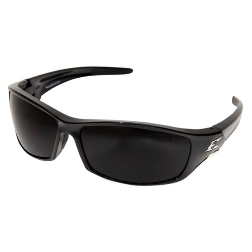 Edge Reclus Safety Glasses with Black Frame - Smoke Lens