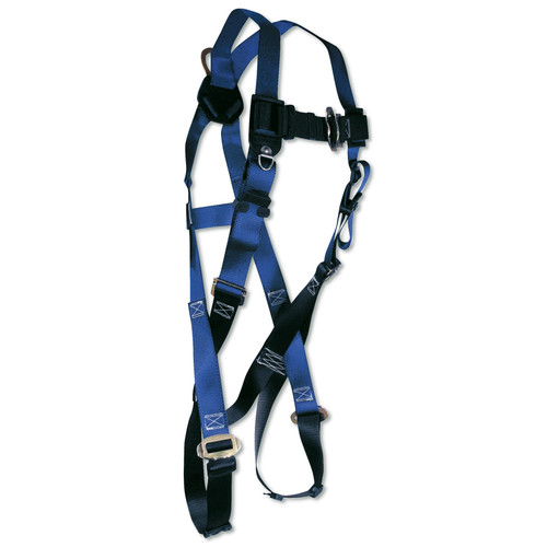 FallTech Single D-Ring Safety Harness with Mating Buckles