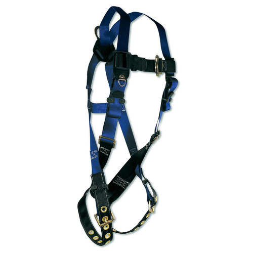 FallTech Single D-Ring Safety Harness with Tongue Buckles