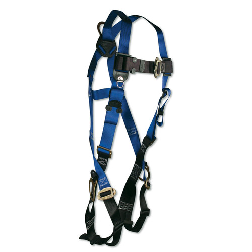 FallTech Triple D-Ring Safety Harness with Mating Buckles