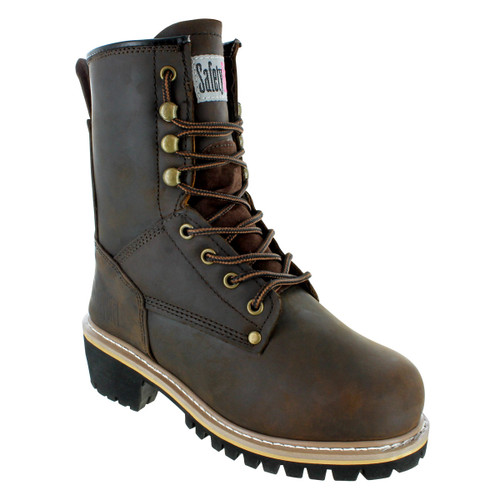 8-Inch Safety Girl Women's Logger Boot