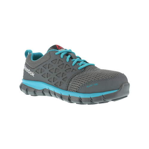 Reebok Women's Sublite Cushion Work  Grey Alloy Toe-RB045
