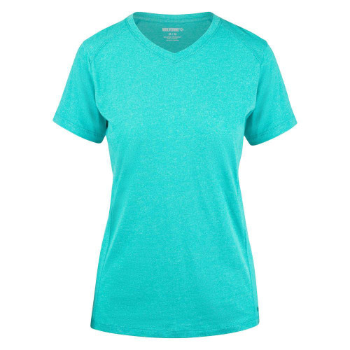Wolverine Women's Edge Short Sleeve Tee-Calypso Heather