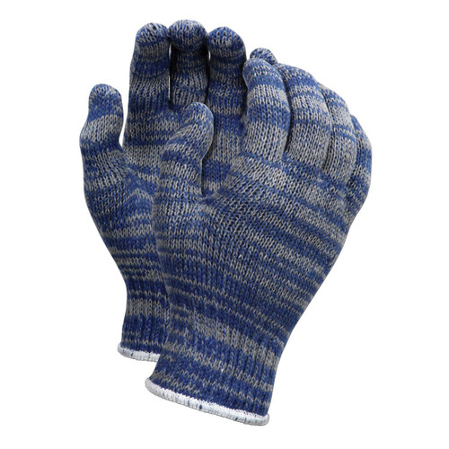 Memphis Economy Multi-Colored String Knit Gloves