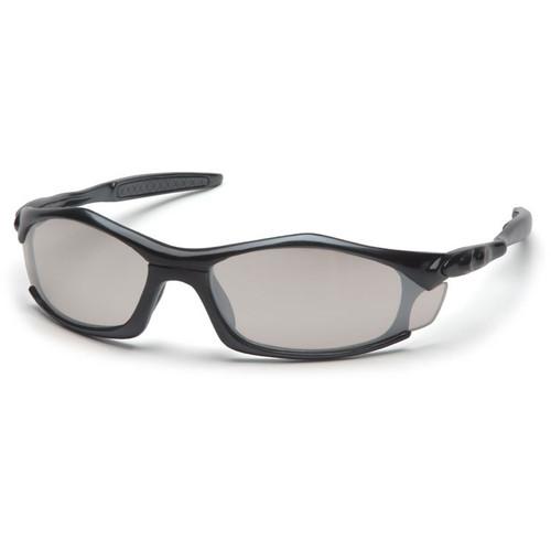 Pyramex Solara Safety Glasses w/ Indoor/Outdoor Mirror Lens