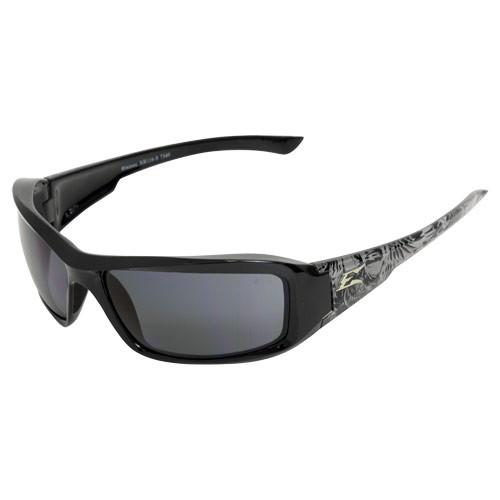 Edge Brazeau Skull Series Safety Glasses - Smoke Lens