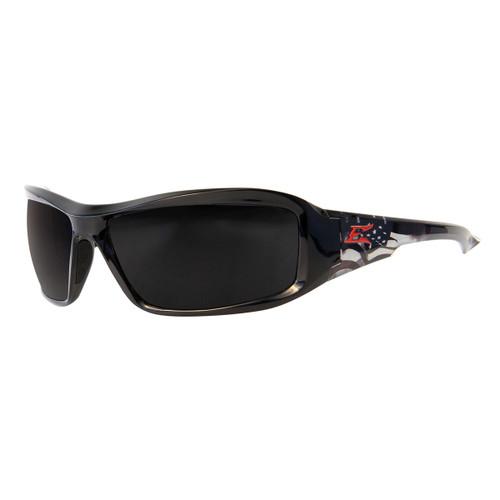 Edge Brazeau Patriot 1 Safety Glasses - Smoke Lens