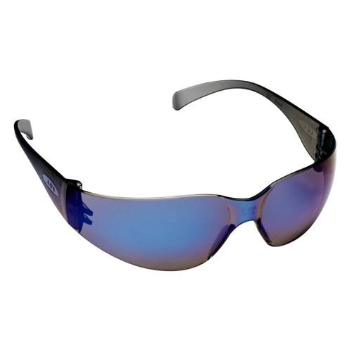 AOSafety Virtua Safety Glasses - Blue Mirror Lens