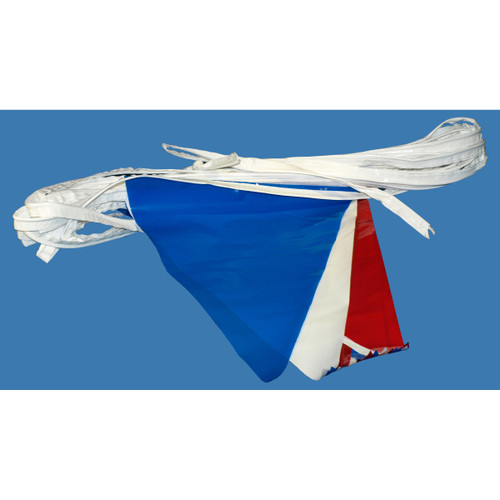 Patriotic Decorating Pennants - 100'