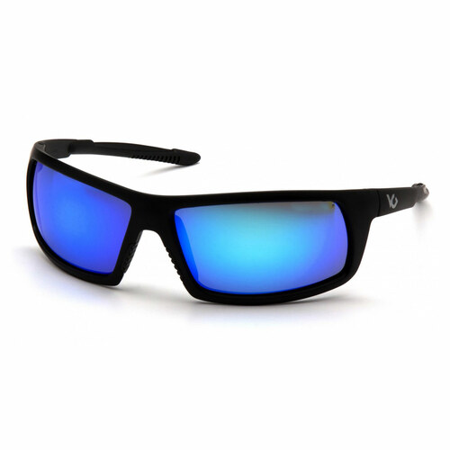 Venture Gear Stonewall Safety Glasses - Ice Blue Mirror Anti-Fog Lens