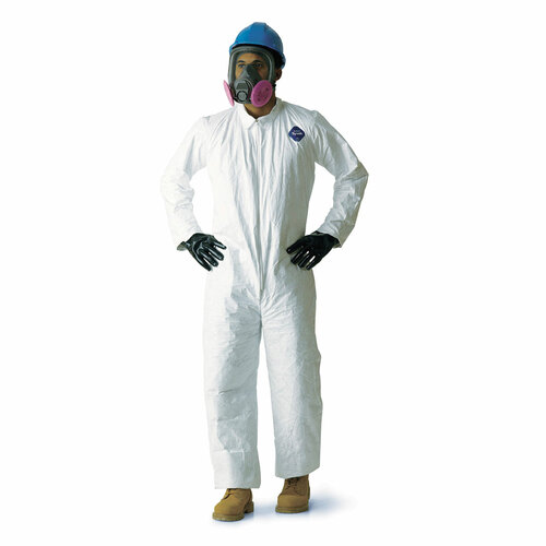 Tyvek Zipper Front Coveralls - TY120SWH - Sizes M, L, XL, 2XL