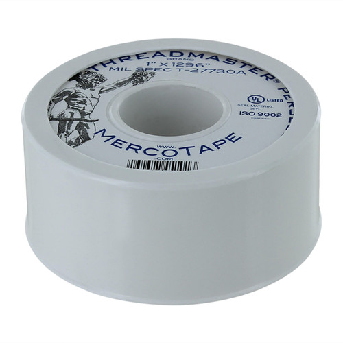 Rugged Blue M 45 Threadmaster Perseus Threadseal Tape 1in x 1296in