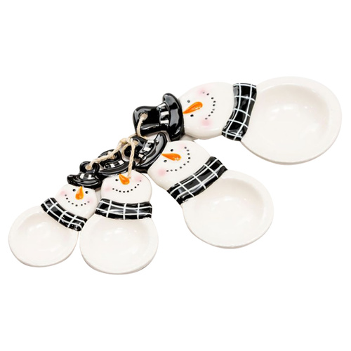 Snowman Measuring Spoon Set