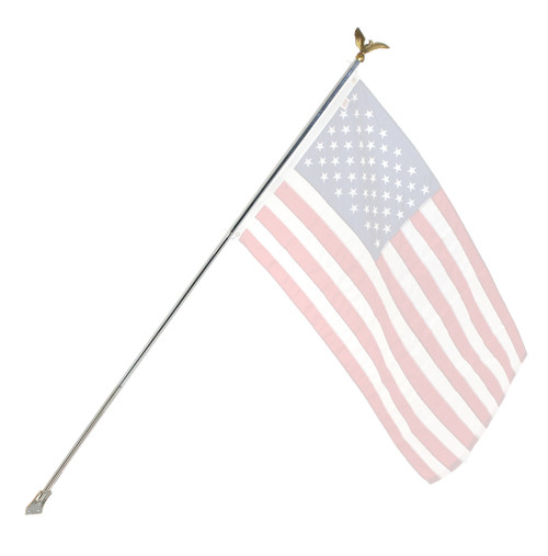 Residential Flagpole Set -  Economy Kit