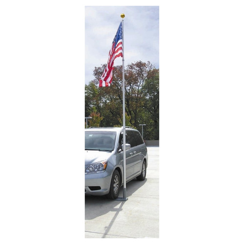 Multi-Use Telescoping Flagpole - 19ft
