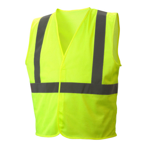 Pyramex Safety RVHLM29 Series Type R Class 2 Mesh Safety Vest