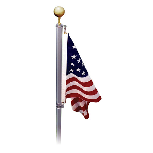 13-Foot to 21-Foot Online Stores US-Made Swivel Sectional Flagpole