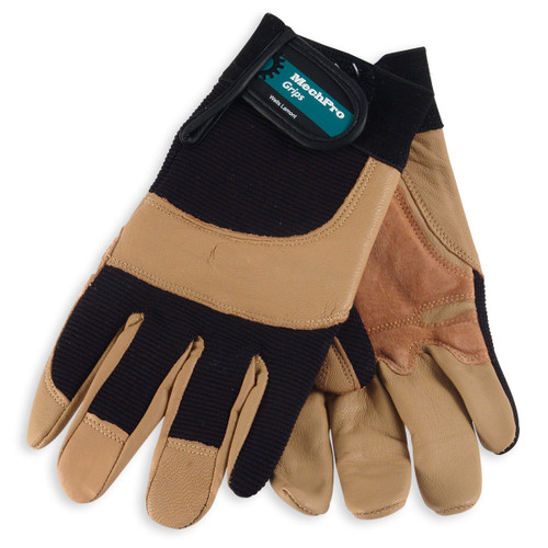 Wells Lamont Leather MechPro Grip Work Gloves - 7790