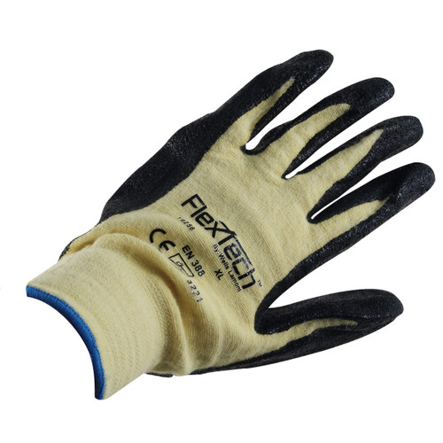 Wells Lamont Kevlar Shell Foam Nitrile Palm Gloves - Y9256