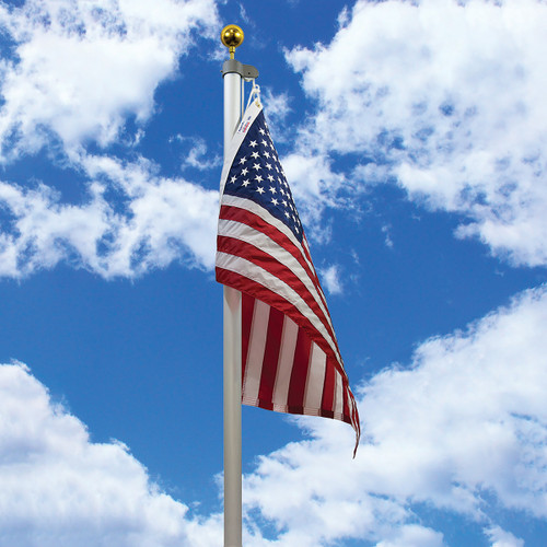 20' Aluminum Tapered Residential Flagpole by Valley