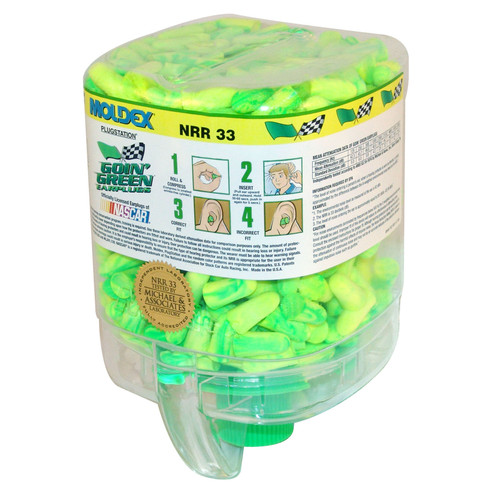 Moldex Goin' Green Ear Plug Station - 250 Pair