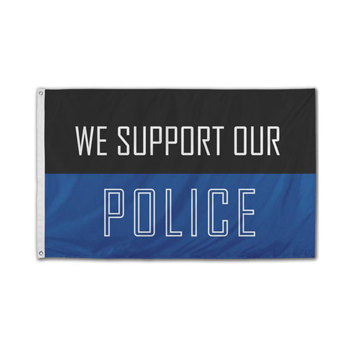 We Support The Police Flag