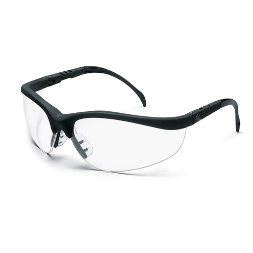 Crews Klondike Safety Glasses with Clear Anti-Fog Lens