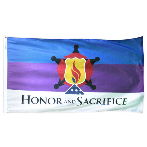 Honor and Sacrifice Flag 3ft x 5ft Nylon