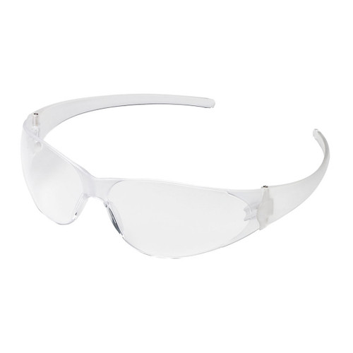 Crews Checkmate Safety Glasses with Clear Lens