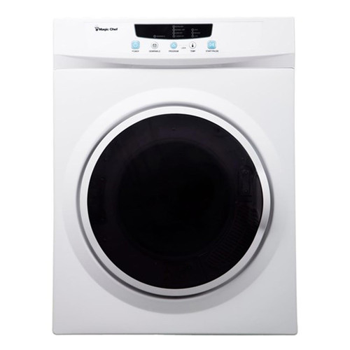 3.5 Cu. Ft. Compact Dryer - White