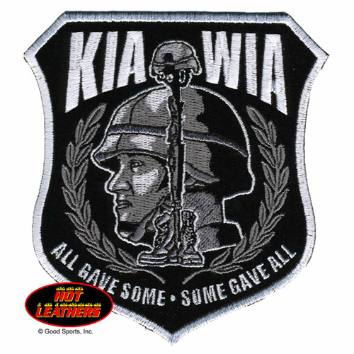 Hot Leathers Patches KIA WIA Patch