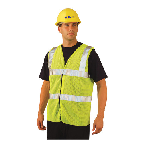 OccuNomix LUX-SSCOOLG Class 2 Mesh Safety Vest