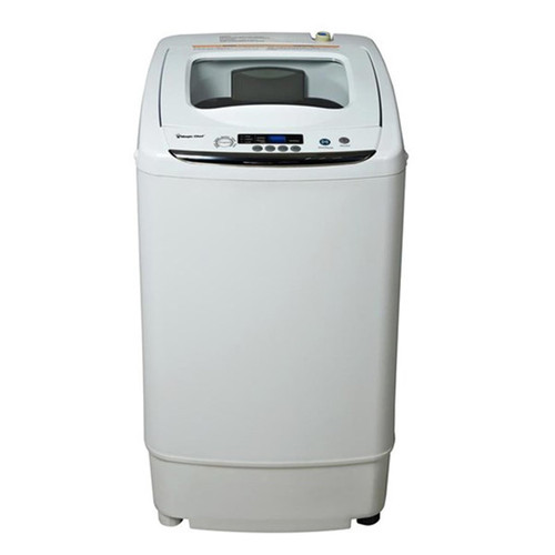 0.9 Cu. Ft. Top Loading Compact Washer - White
