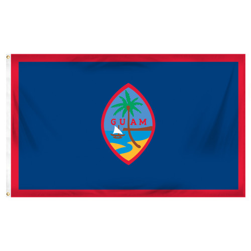 Guam Flag 3ft x 5ft Printed Polyester