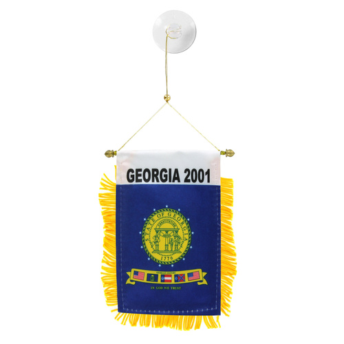 Georgia 2001 Mini Window Banner