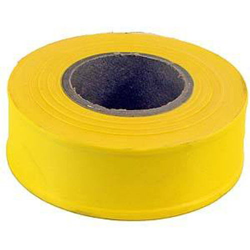 Flagging Tape, Fluorescent Yellow, 1.18 x 150'